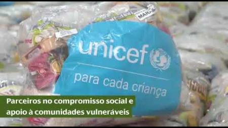 CHTP se junta à UNICEF para doação de cestas é kits de higiene no Pará