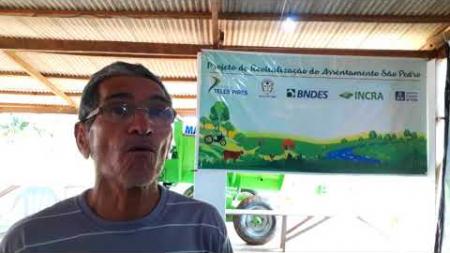 Produtor rural fala sobre expectativa de aumentar a produção com o PRASP