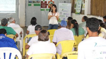 BNDES visita projeto da Usina Teles Pires em assentamento no MT