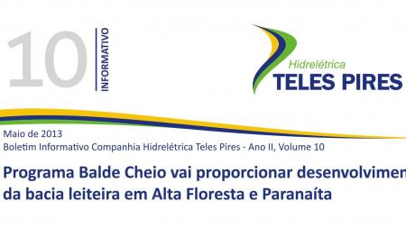 Boletim Informativo Companhia Hidrelétrica Teles Pires - Volume 10