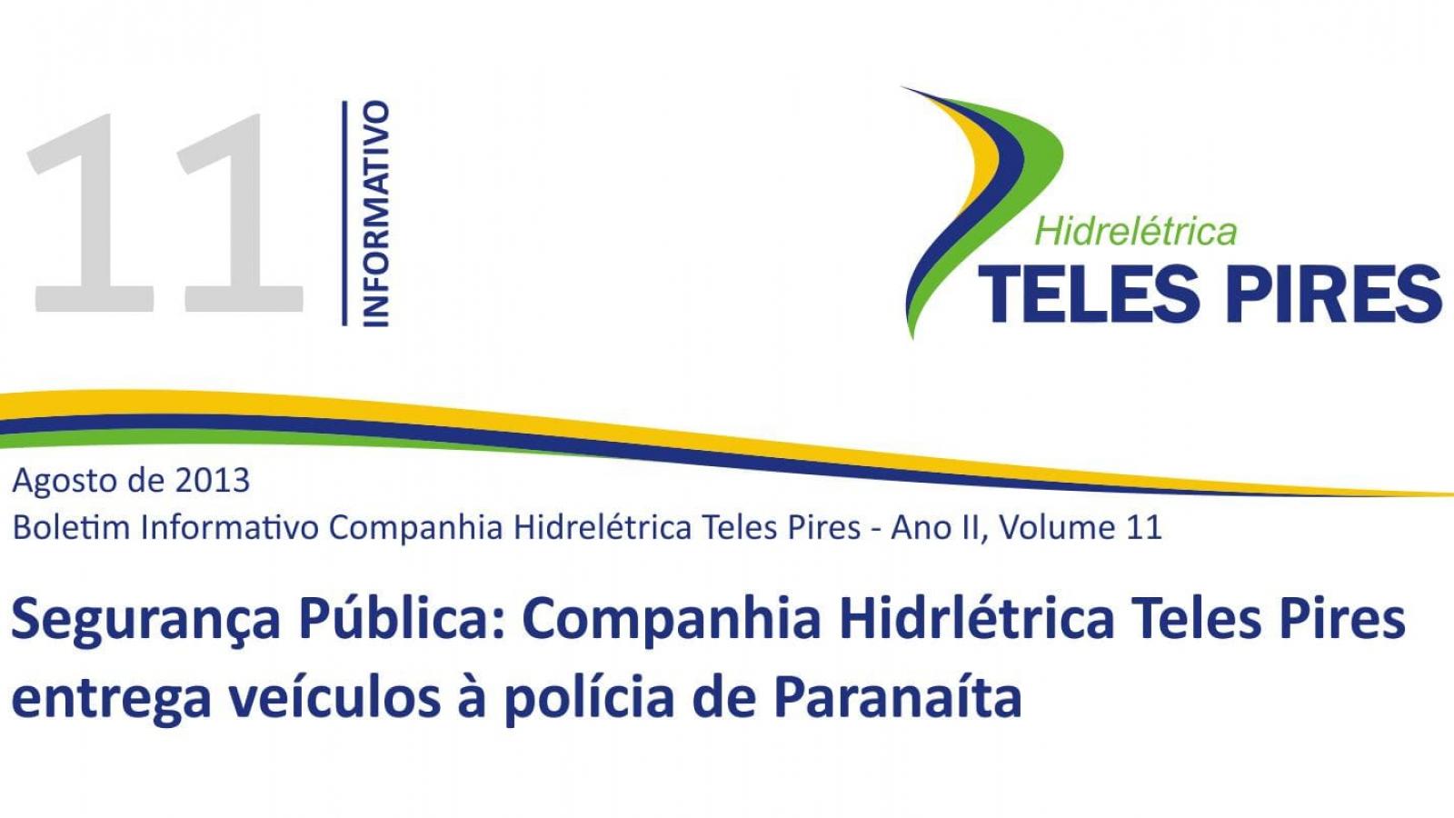 Boletim Informativo Companhia Hidrelétrica Teles Pires - Volume 11
