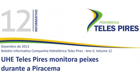 Boletim Informativo Companhia Hidrelétrica Teles Pires - Volume 12