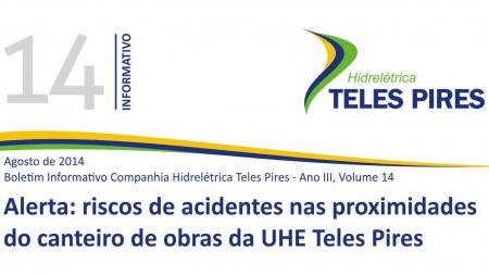 Boletim Informativo Companhia Hidrelétrica Teles Pires - Volume 14