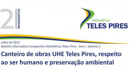 Boletim Informativo Companhia Hidrelétrica Teles Pires - Volume 2