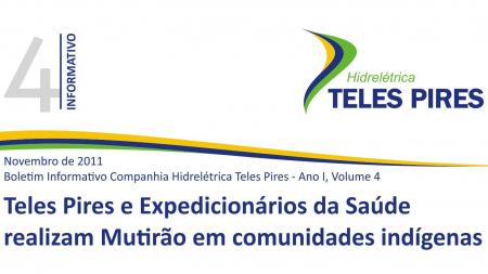 Boletim Informativo Companhia Hidrelétrica Teles Pires - Volume 4