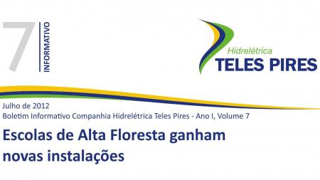 Boletim Informativo Companhia Hidrelétrica Teles Pires - Volume 7