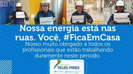 Campanha #FiqueEmCasa