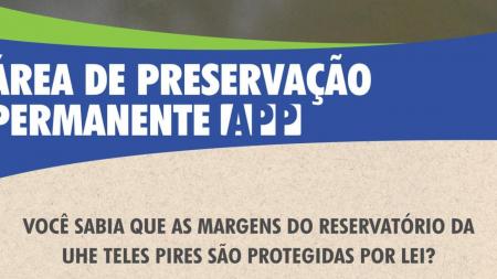 Cartilha Informativa APP - Áreas de Preservação Permanente no Entorno da UHE Teles Pires