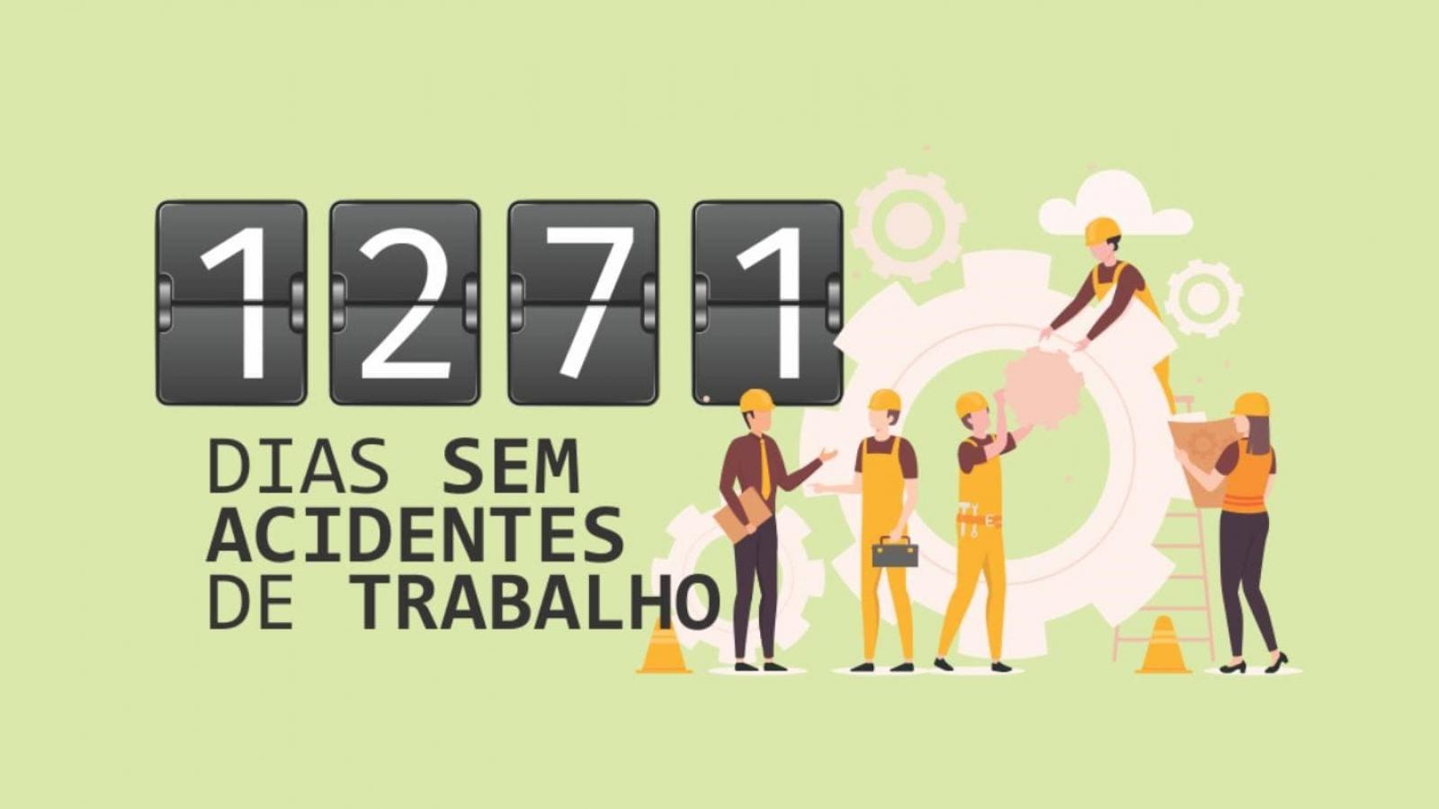 Companhia Hidrelétrica Teles Pires comemora 1.271 dias sem acidentes de trabalho com afastamento