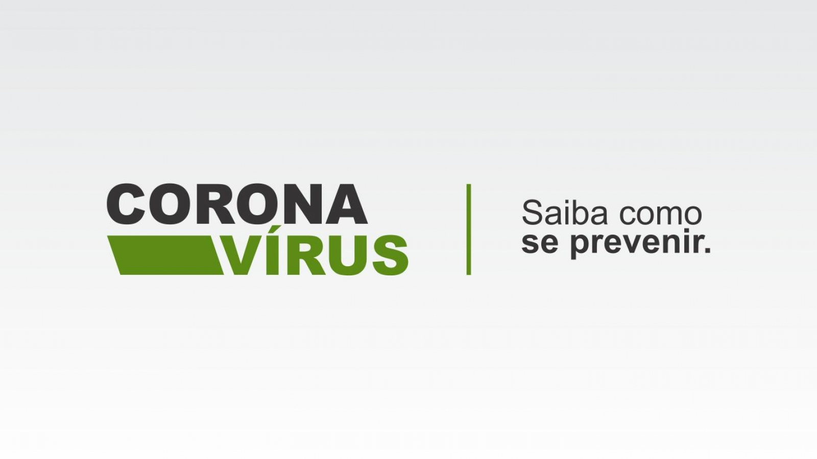 Coronavírus - Saiba como se prevenir