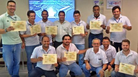 Equipe de Operação da UHE Teles Pires recebe Certificação Técnica