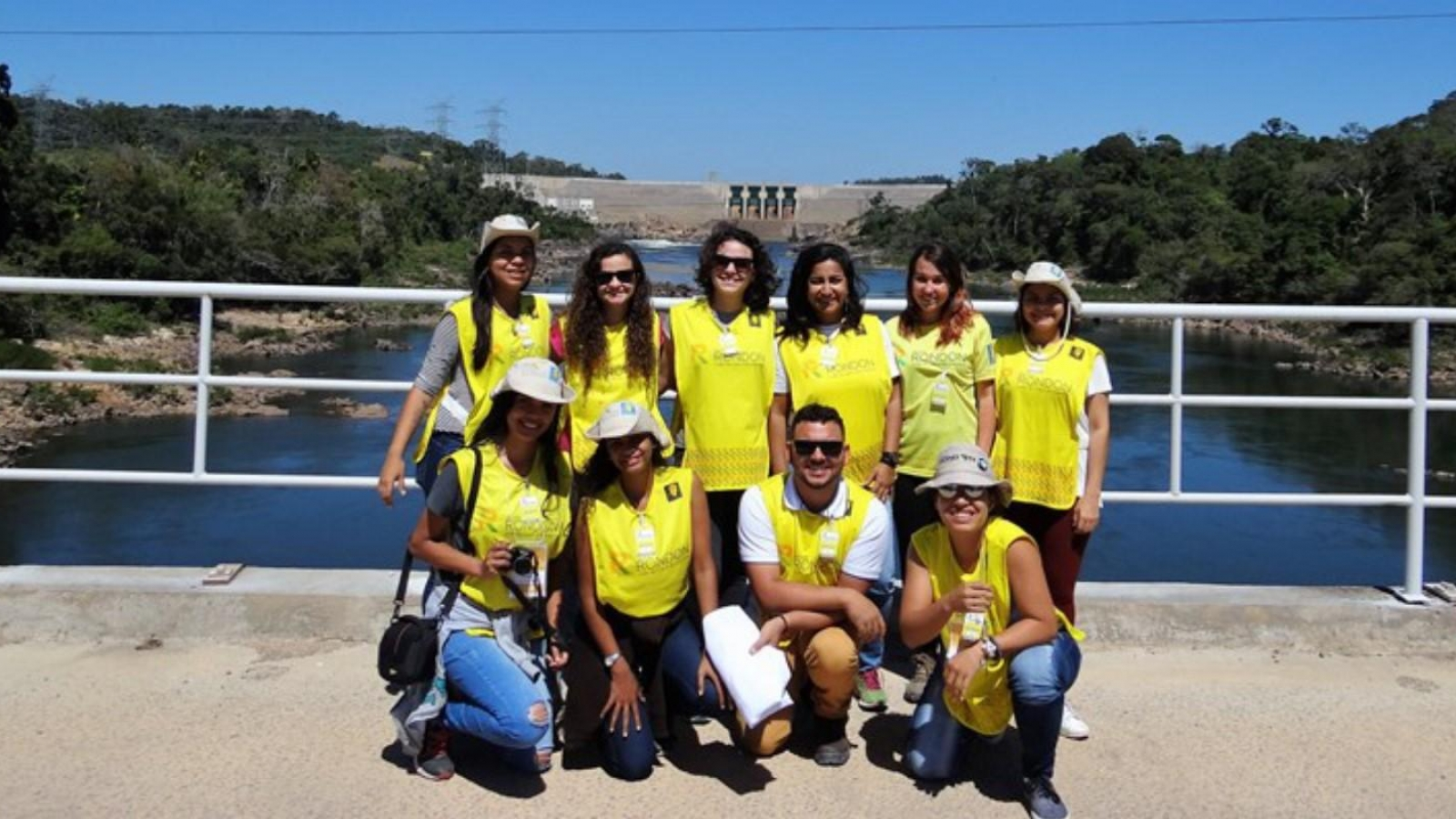 Equipe do projeto Rondon conhece UHE Teles Pires