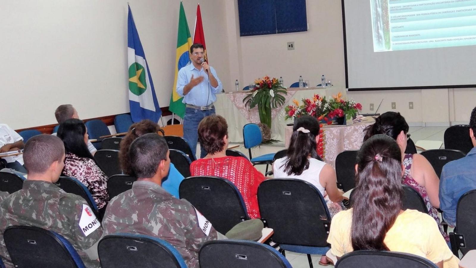 Semana do Meio Ambiente: CHTP apoia 2ª fase do Programa Adote uma Nascente em Alta Floresta