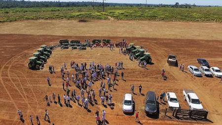 UHE Teles Pires entrega oito patrulhas mecanizadas para o PA São Pedro em Paranaíta Projeto de Revitalização do Assentamento prevê ainda regularização dos lotes