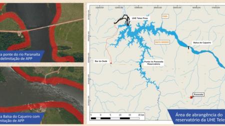 UHE Teles Pires orienta população sobre uso e ocupação de áreas na região do lago