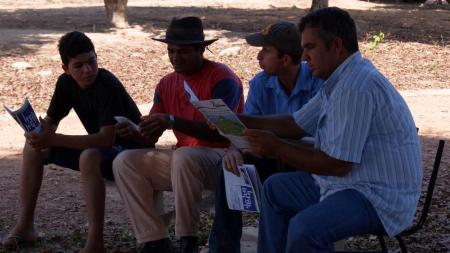 Visita ao Assentamento São Pedro - Paranaíta/MT