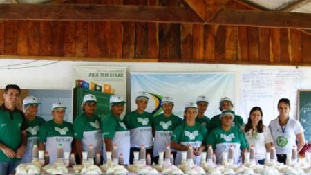 CHTP apoia curso de derivados do leite em Paranaíta