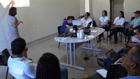 CHTP e instituições parceiras planejam ações para revitalização do PA São Pedro