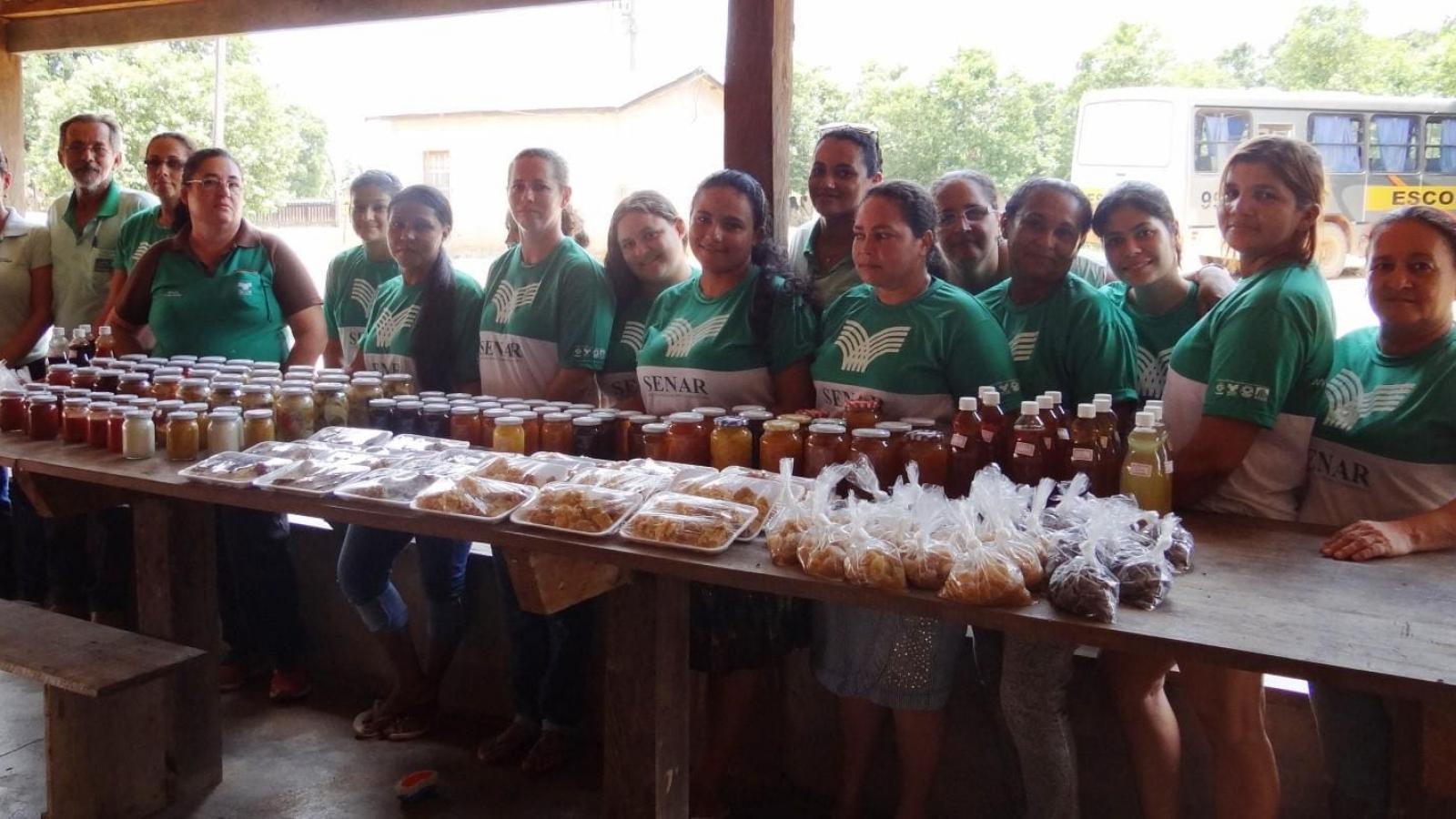 CHTP promove curso de doces e conservas artesanais em Paranaíta