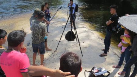 CHTP promove curso de fotografia e vídeo em comunidades indígenas