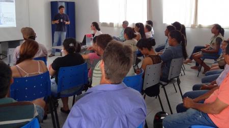 CHTP promove oficina sobre recuperação de mata ciliar no assentamento São Pedro