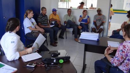 CHTP propõe capacitações para moradores de assentamento em Paranaíta