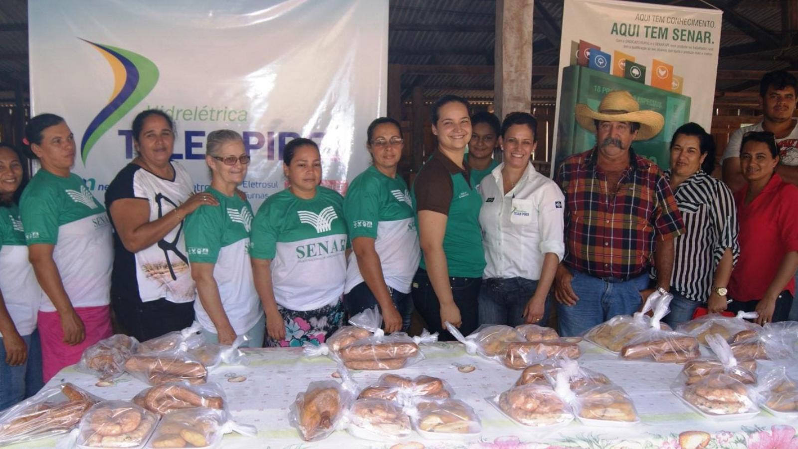 CHTP realiza curso de beneficiamento de frango em comunidade rural