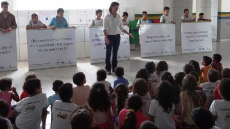 Hidrelétrica Teles Pires apoia campanha ambiental no Assentamento São Pedro