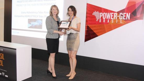 Hidrelétrica Teles Pires recebe prêmio de melhor projeto socioambiental