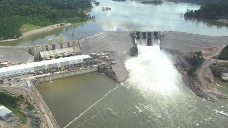 Informe: Enchimento do Reservatório