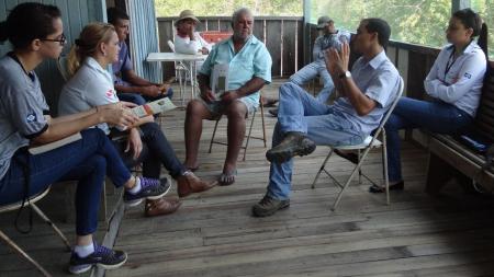 Oficina participativa com pescadores é realizada em Paranaíta