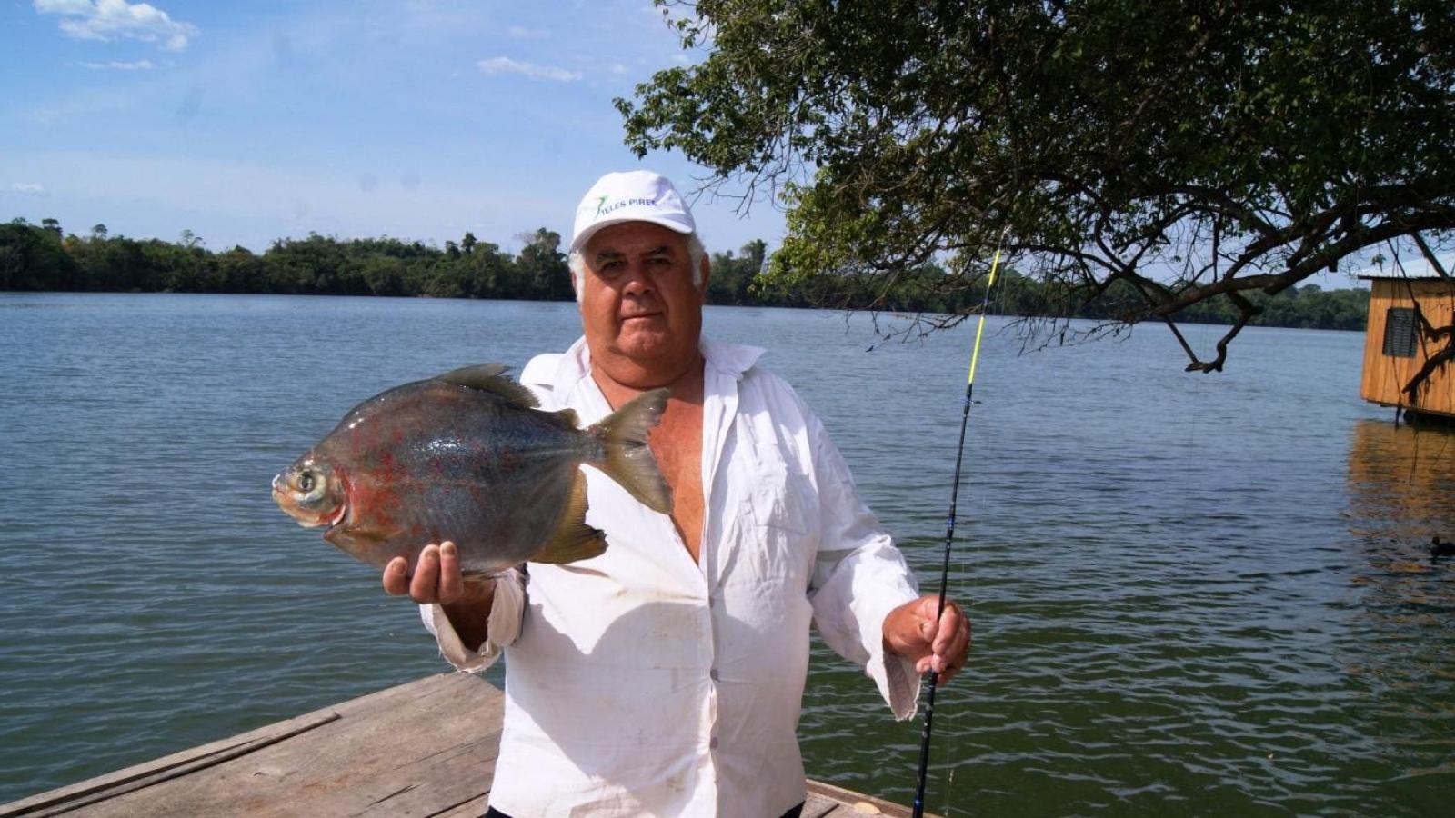 Produção de derivados do peixe anima pescador em Paranaíta