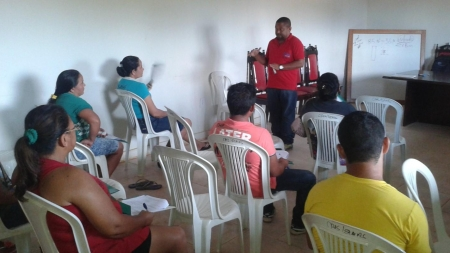 UHE Teles Pires promove curso de Olericultura em Jacareacanga