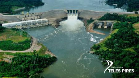 Hidrelétrica Teles Pires completa no mês de novembro cinco anos do início da operação comercial de Energia