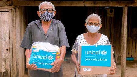 Companhia Hidrelétrica Teles Pires se junta ao UNICEF e doa cestas e kits de higiene no Pará