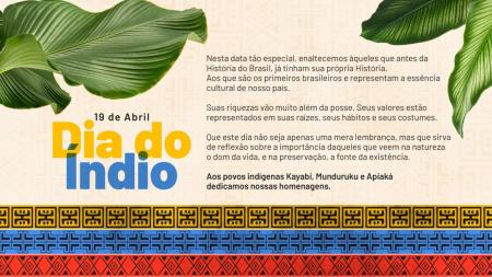 Companhia Hidrelétrica Teles Pires faz homenagem ao dia do Índio