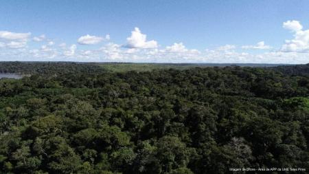Companhia Hidrelétrica Teles Pires utiliza drones para fiscalizar áreas de proteção ambiental de usina hidrelétrica