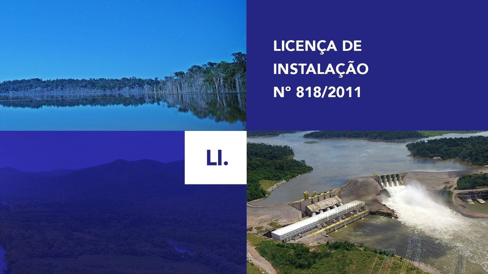 LI - Licença de Instalação Nº 818/2011
