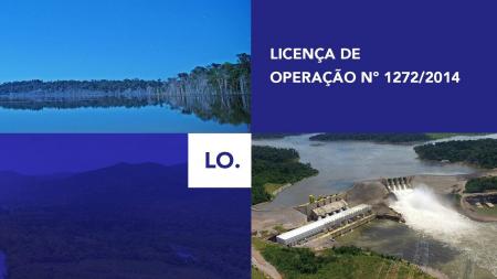 LO - Licença de Operação Nº 1272/2014