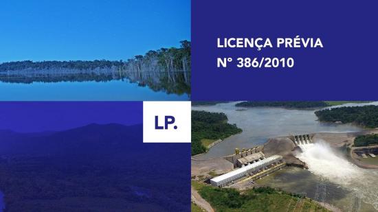 LP - Licença Prévia Nº 386/2010
