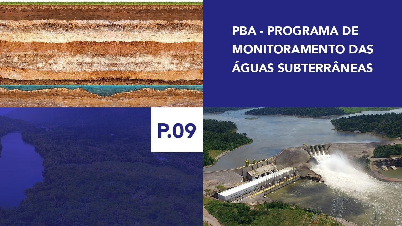 P.09 - Programa de Monitoramento das Águas Subterrâneas