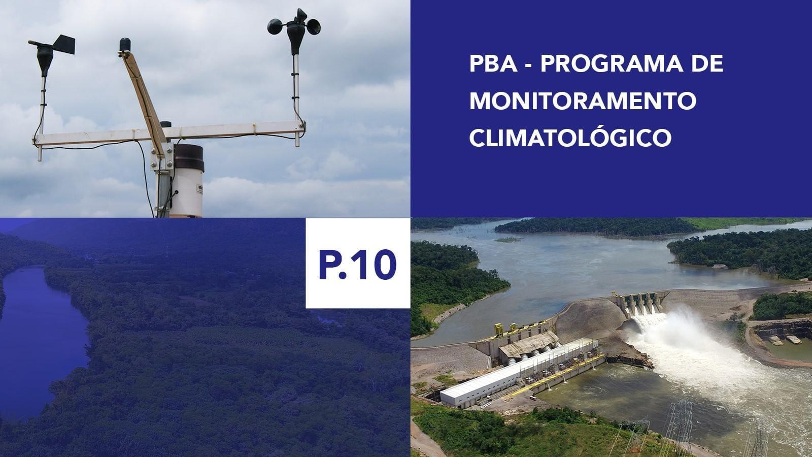 P.10 - Programa de Monitoramento Climatológico