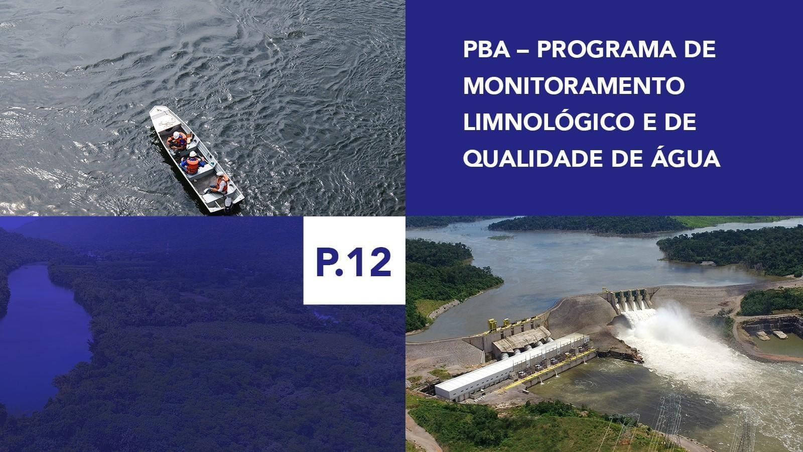 P.12 - Programa de Monitoramento Limnológico e de Qualidade de Água