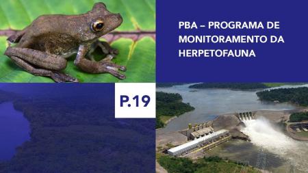 P.19 - Programa de Monitoramento da Herpetofauna
