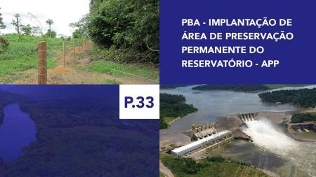 P.33 - Implantação de Área de Preservação Permanente do Reservatório - APP