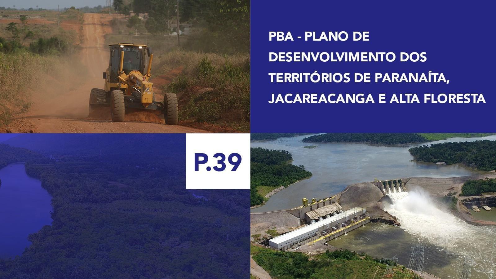 P.39 - Plano de Desenvolvimento dos Territórios de Paranaíta, Jacareacanga e Alta Floresta