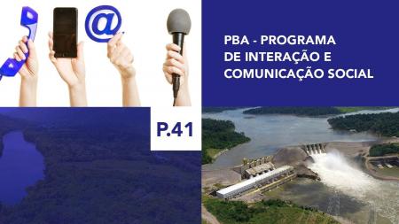 P.41 - Programa de Interação e Comunicação Social