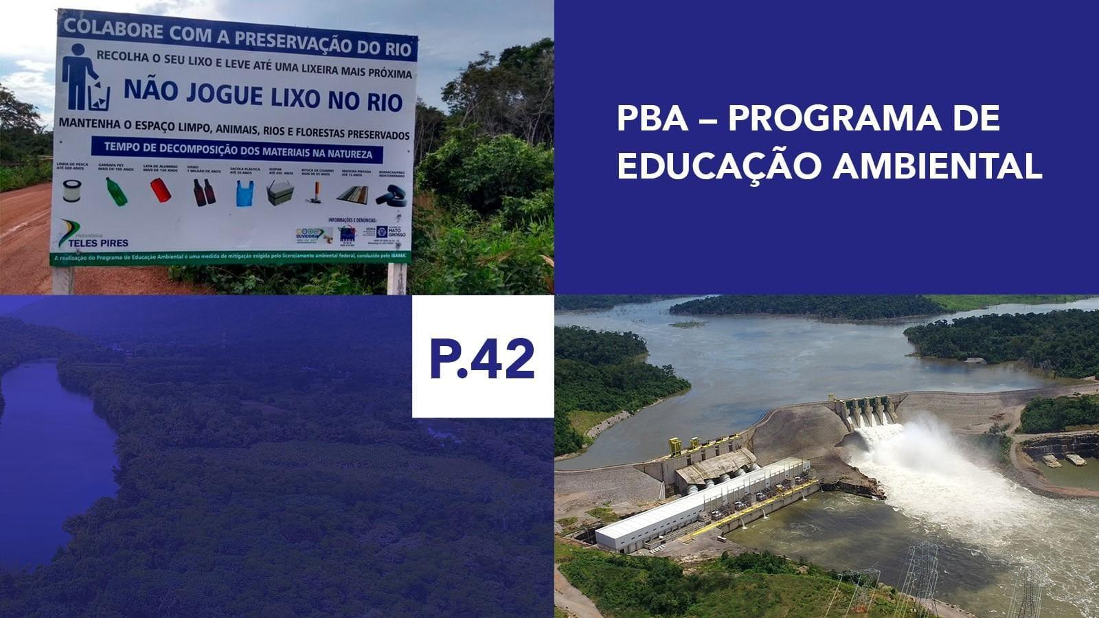 P.42 - Programa de Educação Ambiental