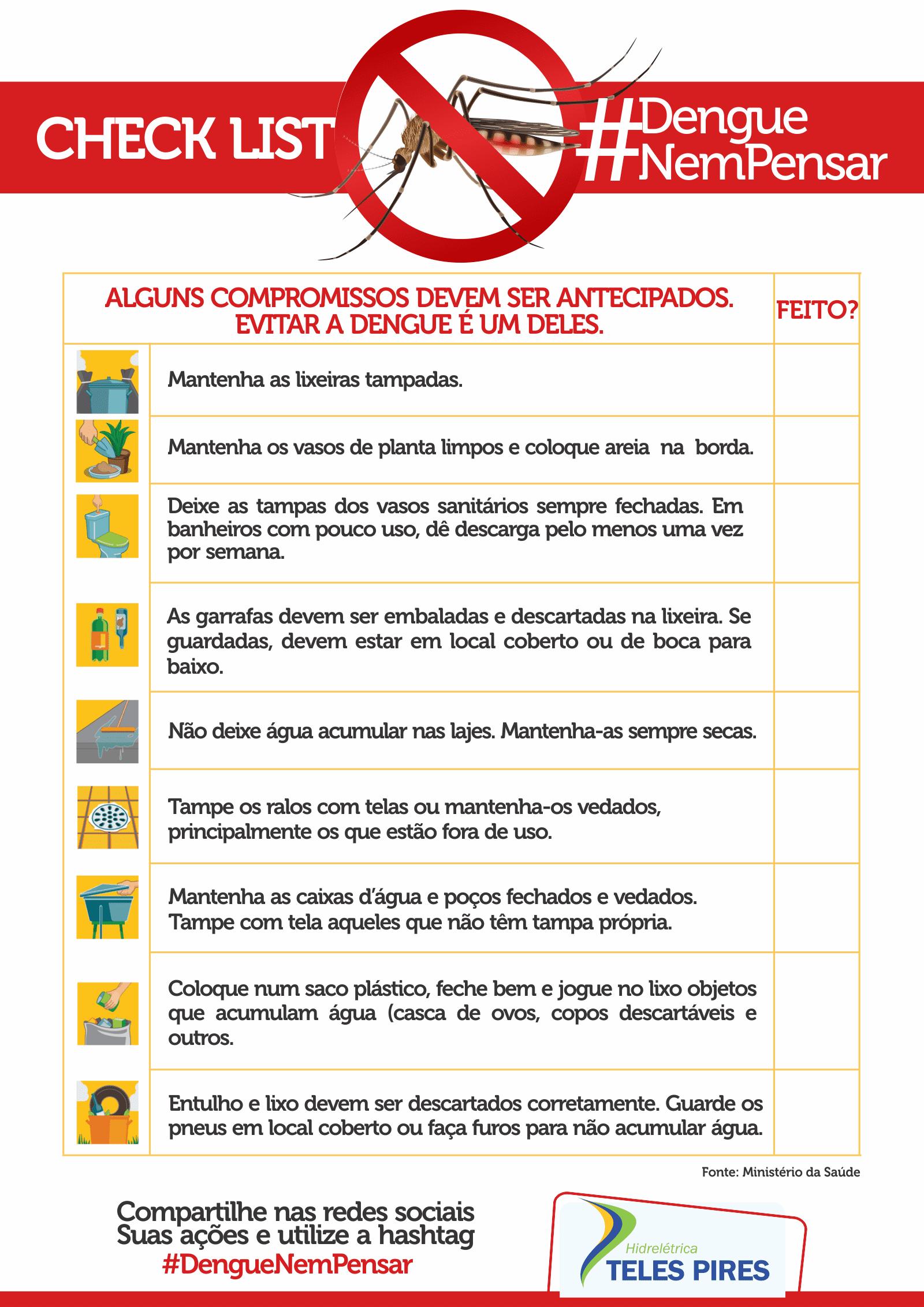 Campanha #DengueNemPensar