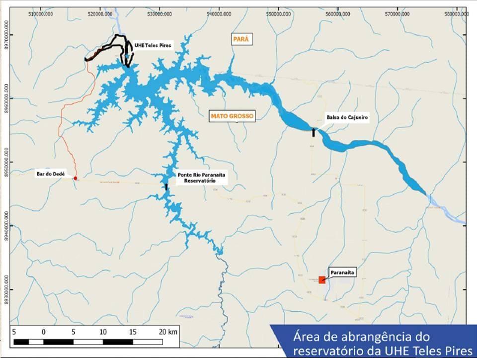 Você sabia que as margens do Reservatório da UHE Teles Pires são protegidas por Lei? E que elas não podem ser alteradas ou ocupadas sem autorização?